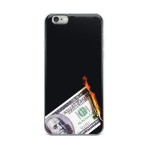 breathin Streetwear Shop, Wien - iPhone Handyhülle, Apple iPhone Smartphone Case Burning Benjamin