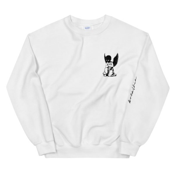 breathin Streetwear, Pray Now SweatShirt, Streetwear Sweatshirts